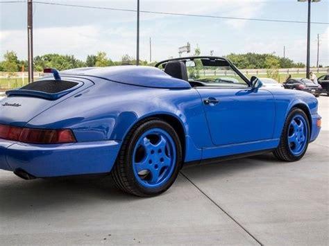 porsche speedster blue 1994 porsche 911 speedster speedster 25583 maritime