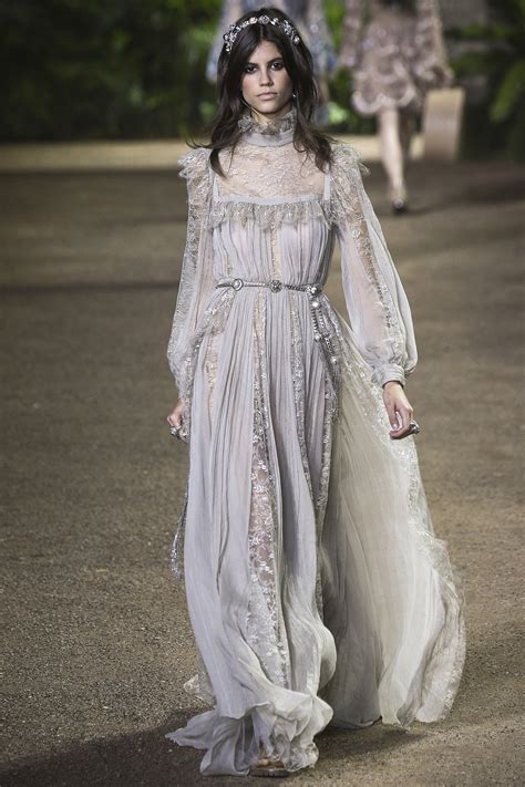 Look Kimono Dresses Couture In The City Fashion by Elie Saab 2016 Couture Collection Mikado