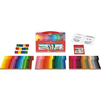 Faber Castell Conector Pen 60 Buku Mewarnai Colouring For Relaxation faber castell connector felt tip pen gift set 60 pieces