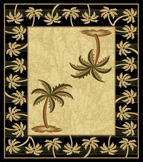 palm tree area rugs cheap black bahamas palm tree rug 2320 bahamas rugs