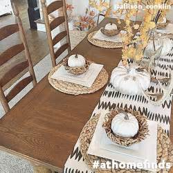 our basketwoven placemats add an authentic autumn