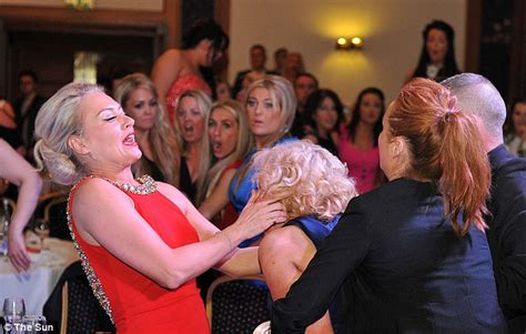 hairdresser awards glasgow ruthanne reid headbutts guest at glasgow s inaa scottish