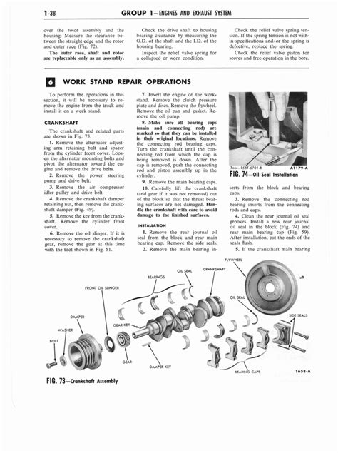 car maintenance manuals 2000 ford f250 navigation system 1961 ford and mercury truck 850 1100 series shop manual page 46 of 413