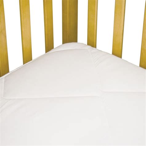 fitted crib mattress pad sealy cozy dreams waterproof fitted crib mattress pad