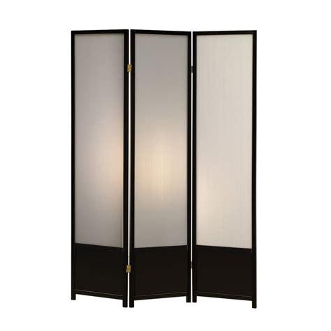 indoor privacy screen living room furniture shop coaster furniture 3 panel black polypropylene