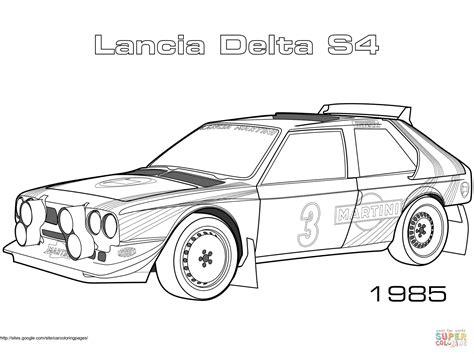 Rally Auto Zum Ausmalen by Coloriage 1985 Lancia Delta S4 Coloriages 224 Imprimer