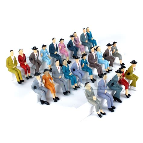 g figures 25 pcs sitting g scale figures mixed