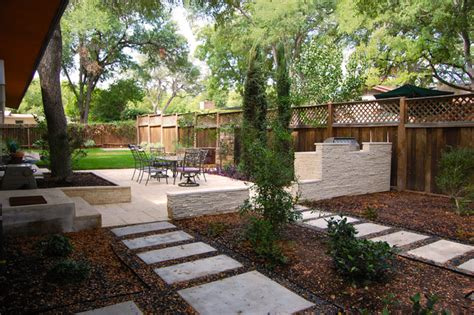 backyard architect zilker park backyard contemporary landscape austin