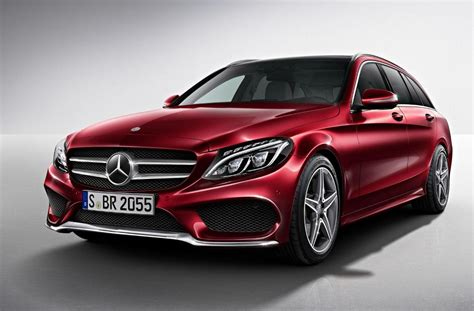 Mercedes Upholstery Kits Mercedes Benz C Class Estate Amg Line Officially Unveiled
