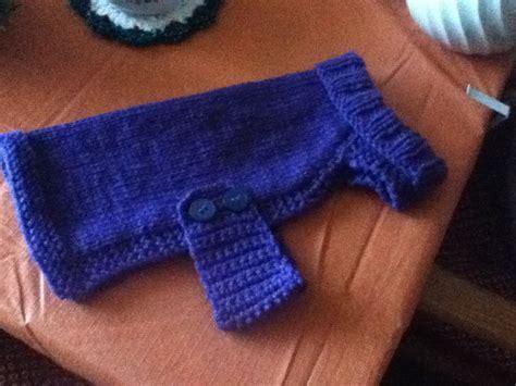knitting pattern dog sweater large knitted dog sweater knit or crochet pinterest