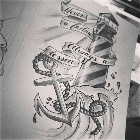 tattoo drawing anchor discovered by jess ouimet