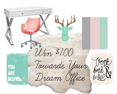 The Office Giveaway - 100 home office giveaway