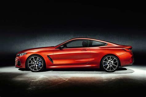 new bmw 2018 8 series new bmw 8 series coupe orange side 2018 autobics