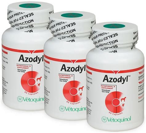 azodyl for dogs azodyl 3 pack 180 small capsules by vetoquinol