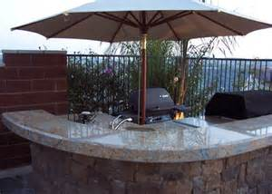 backyard outdoor kitchens barbeque islands patio covers