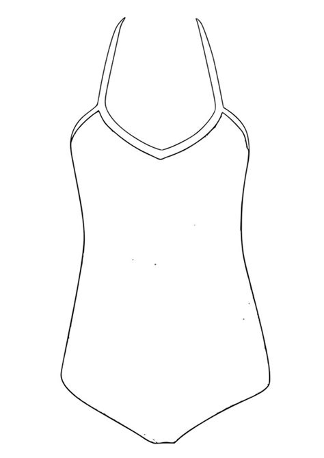 coloring page bathing suit coloring page bathing suit img 28812