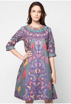 Tunik Batik Sinaran Sogan dress sinaran from griya batik inspiring style