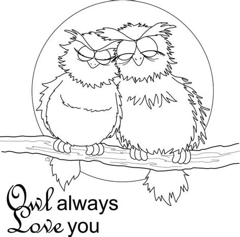 valentine owl coloring page valentine coloring pages best coloring pages for kids