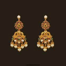 Chandelier Online India Latest Gold Jhumka Earrings Design With Price In India