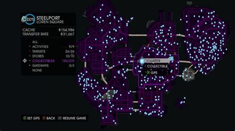saints row 4 clusters locations vgfaq