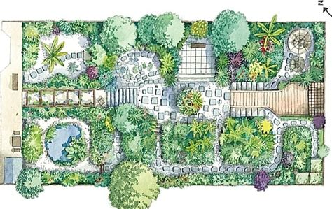 zen garden design layout photograph london college of