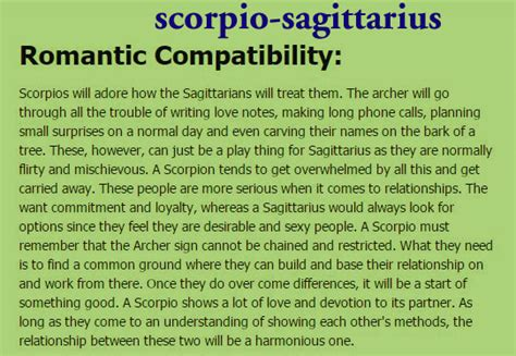 11 quotes about scorpio sagittarius relationships