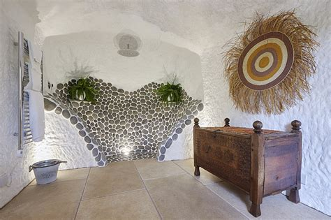 grand designs man spends  carving  cave   dream house daily mail