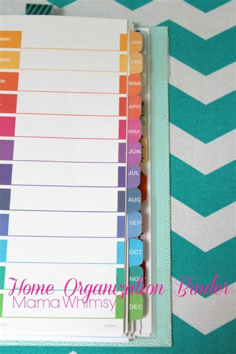 home organization binder how to organize your home binder organized and clean