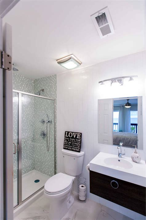 hgtv small bathroom makeovers after flip after the makeover this guest bathroom