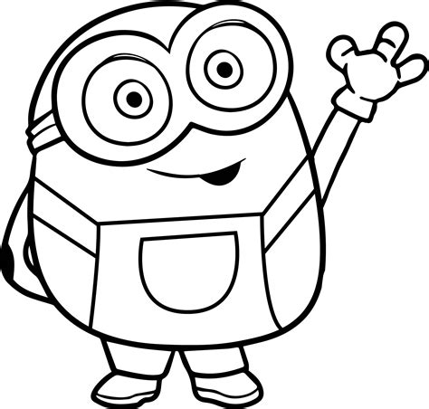 king bob coloring page bye bob from minions coloring page king bob coloring page
