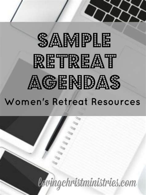 Sle Retreat Agendas Pinterest Template Easy And Powerful Words Retreat Schedule Template