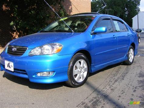 2008 Toyota Colors 2008 Speedway Blue Metallic Toyota Corolla S 17266166