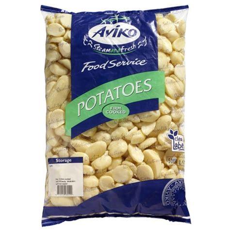 Aviko Kentang 2 5kg potato suppliers steam fresh half potatoes aviko uk