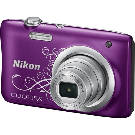 Kamera Nikon A100 nikon coolpix a100 lineart purple compact cameras photopoint