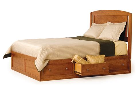 platform bed with drawers amish modern platform storage bed from dutchcrafters