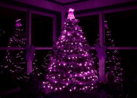 arbol navidad morado 13 arbolitos de navidad relindos en los que hasta santa