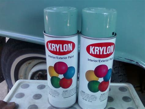 thesamba paint view topic krylon matches to factory colors