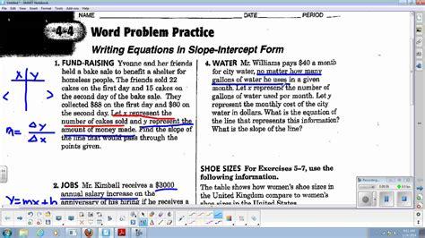 slope words algebra slope word problems worksheets algebra 1