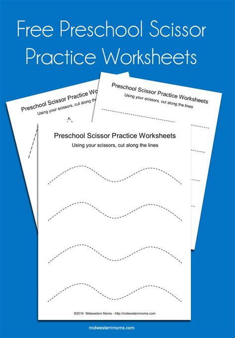 preschool scissor activities printable preschool scissor practice worksheets