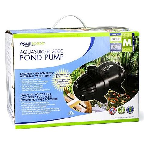 aquascape 3000 pump pond supplies pond liner water garden supplies
