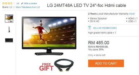 Tv Led Yang Paling Murah beli led tv murah yang berjenama ecommerce in malaysia