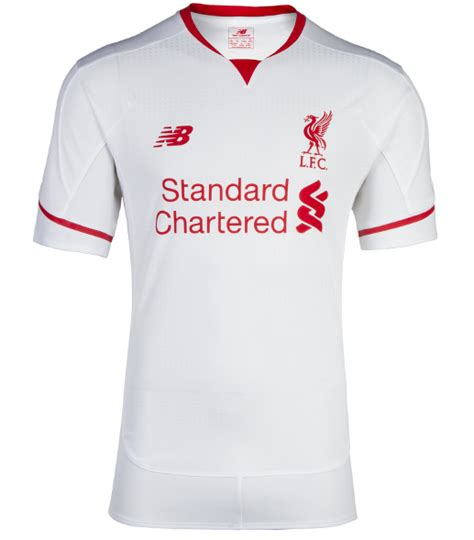 liverpool kit new liverpool kit liverpool fc shirt uksoccershop white liverpool away kit 15 16 lfc alternate jersey 2015