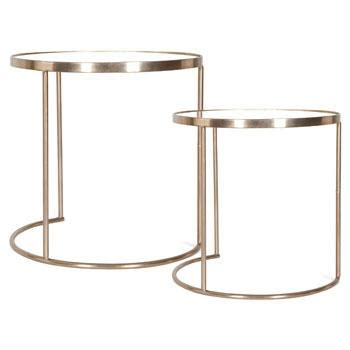 monocle nest of tables set of 2 i zara home