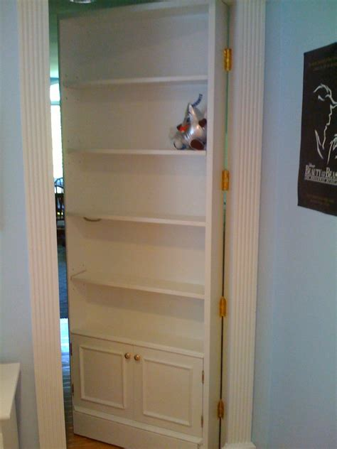 Secret Closet Doors by Custom Bookcase Ideas