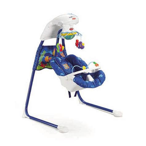 fish baby swing fisher price cradle swing ocean wonders pragathi
