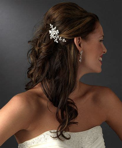 hair styles combed down beautiful hairstyle ideas for brides and bridesmaids the