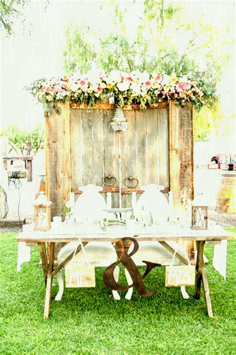 Decorating Wooden Rustic Wedding Table Decor Ideas | little sooti real parties vintage tea garden party