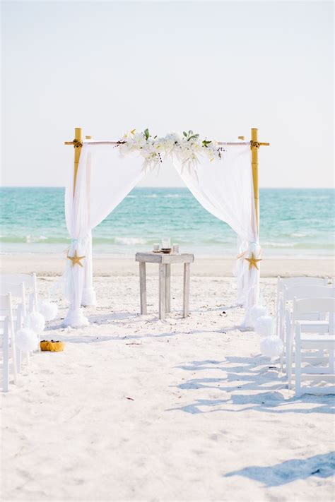 1000 ideas about beach wedding arches on pinterest