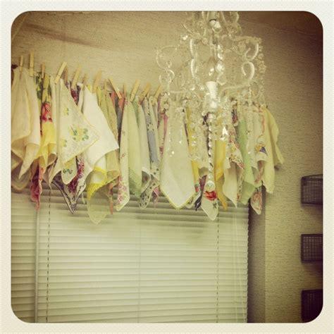 handkerchief curtains handkerchief curtains retro cers pinterest