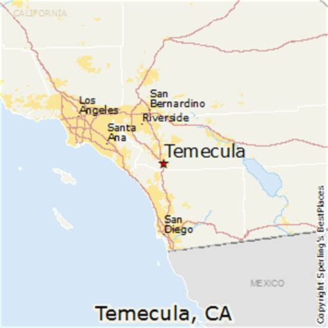 map of temecula best places to live in temecula california